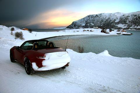 Snow, Vehicle, Car, Freezing, Winter, Personal luxury car, Glacial landform, Automotive exterior, Automotive design, Photography,