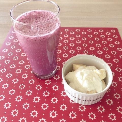 Food, Drink, Cuisine, Ingredient, Health shake, Smoothie, Milkshake, Dish, Batida, Dairy,