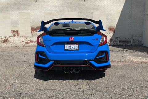 do i want a honda civic si or the honda civic type r honda civic type r