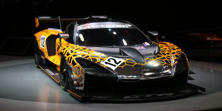 mclaren senna gtr just when you thought mclaren 39 s latest hypercar couldn 39 t get any more hyper. Black Bedroom Furniture Sets. Home Design Ideas