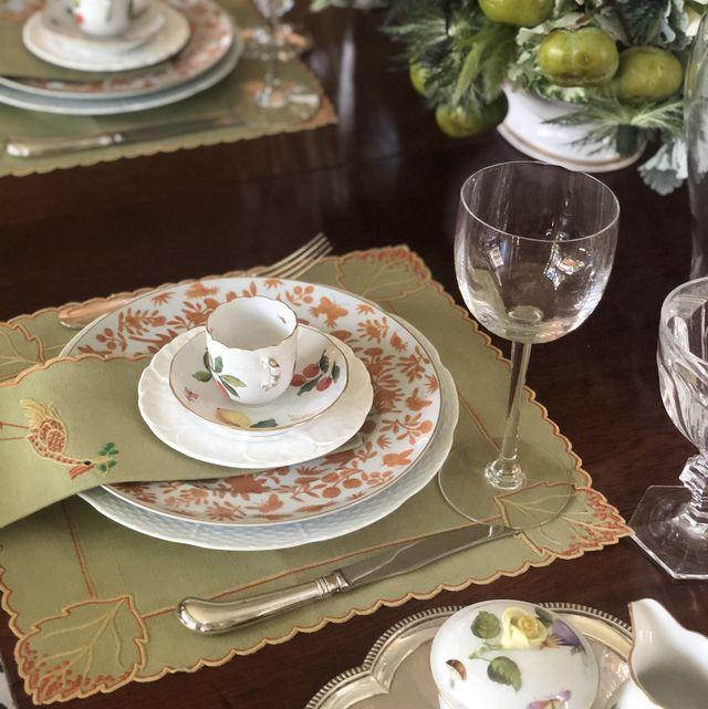 cathy kincaid thanksgiving table