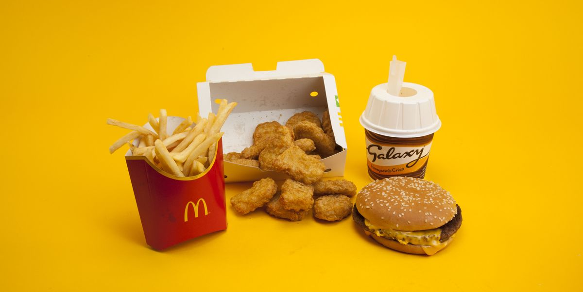 How many calories in fast food? This is what 2,000 ...