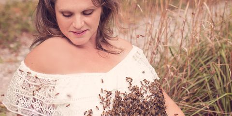 People in nature, Photograph, Beauty, Grass, Skin, Dress, Photography, Brown, Smile, Photo shoot,