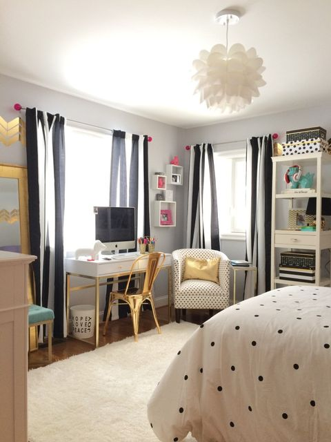 10 Best Teen Bedroom Ideas - Cool Teenage Room Decor for ... on Teenage Room Decor Things  id=23422