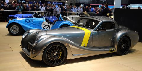 These Are the Last Morgans With Naturally-Aspirated BMW V8s