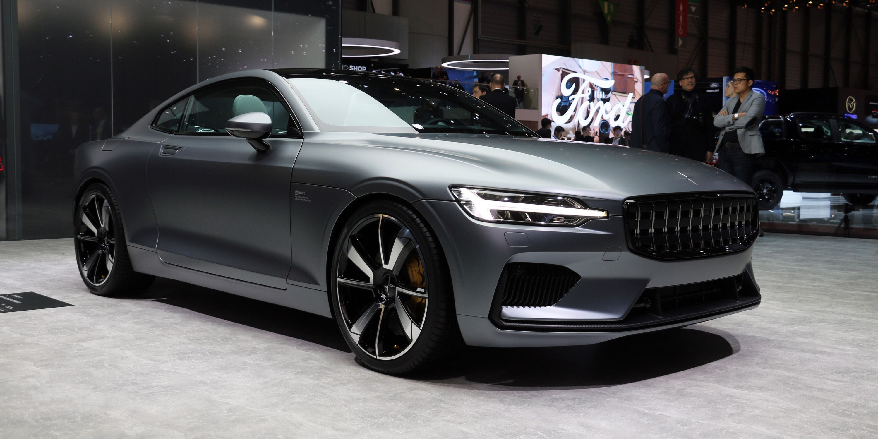 The Stunning Polestar 1 Hybrid Coupe Will Cost 155 000