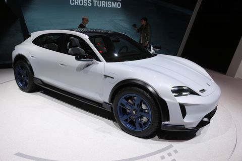 The Porsche Mission E Cross Turismo Concept