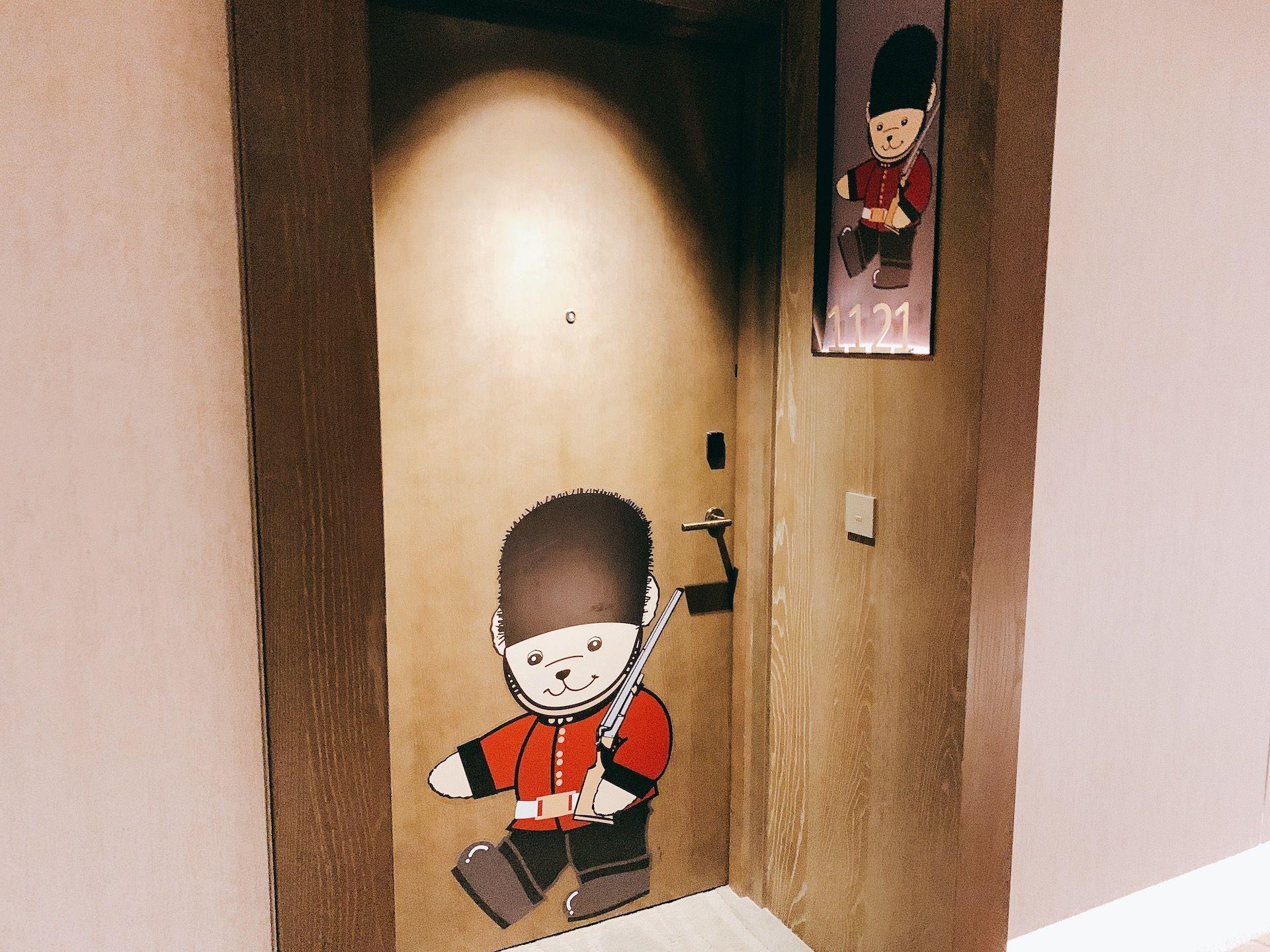 台南晶英,泰迪熊,泰迪熊主題房,台南住宿,Teddy Bear