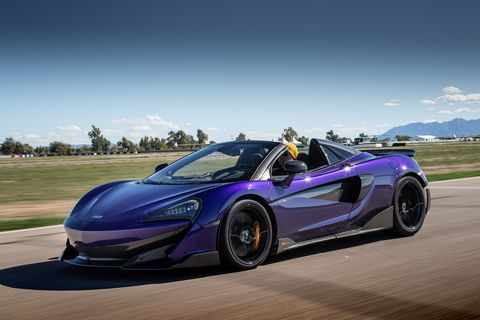 The Mclaren 600lt Spider Is Mind Bendingly Fast