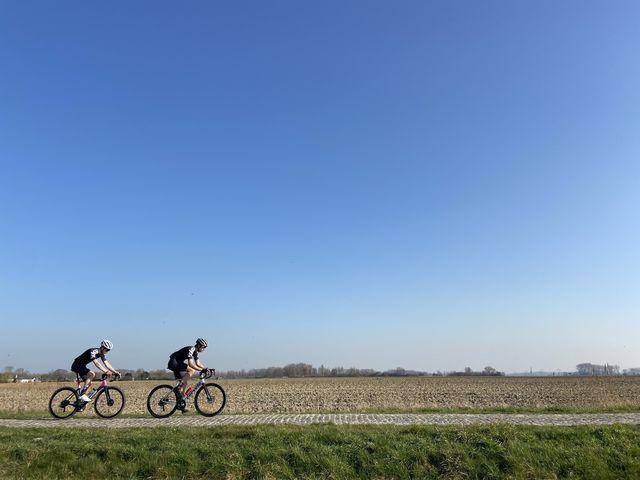 bicycling richt de kasseivrienden op