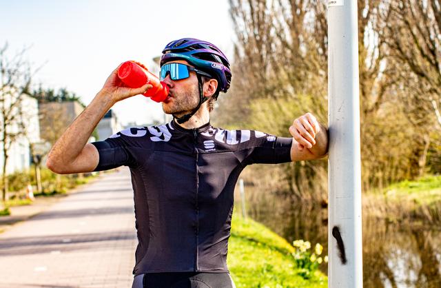 drinken na het fietsen