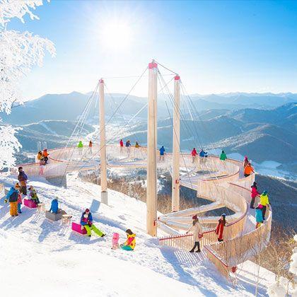 北海道霧冰平台