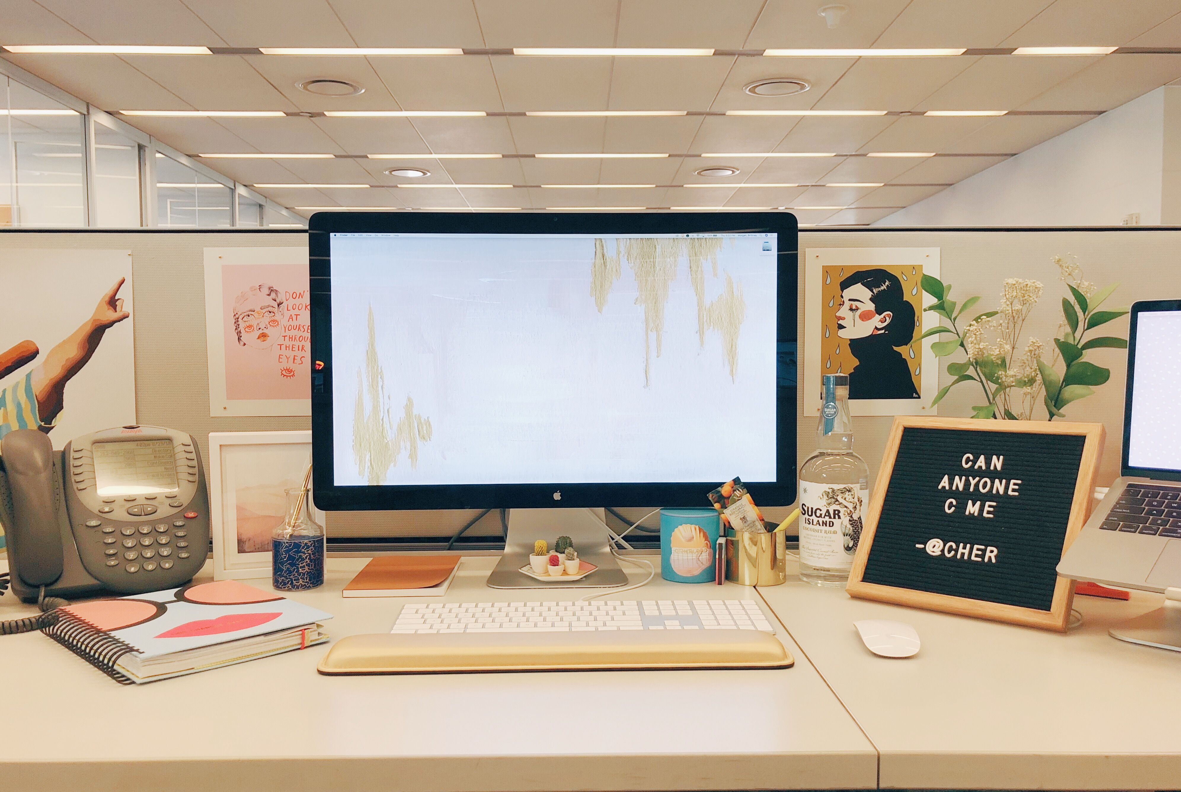 Decorate your office cubicle Feng Shui House Beautiful 10 Best Cubicle Decor Ideas In 2018 How To Decorate Your Cubicle