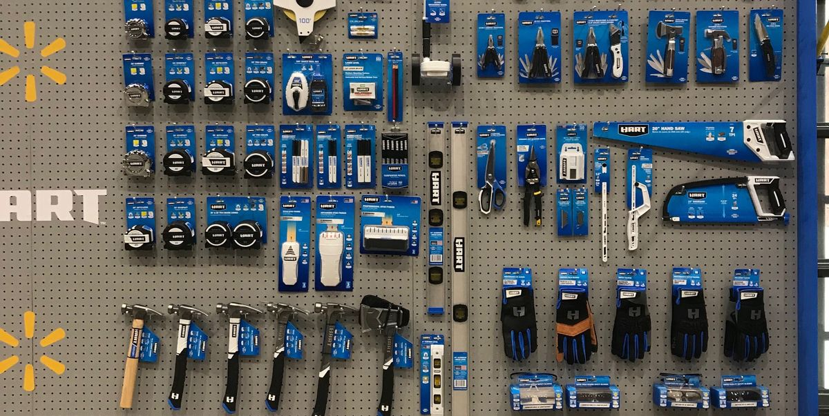 Walmart Launches Hart An Insanely Comprehensive Line Of Tools