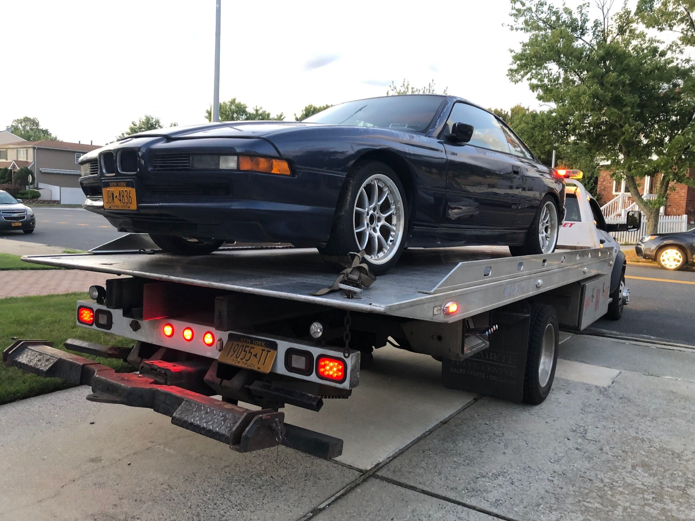 I Bought This Six Speed V 12 8 Series For 700 And Got It Running