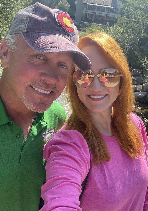 ree drummond ladd drummond vacation selfies vail colorado