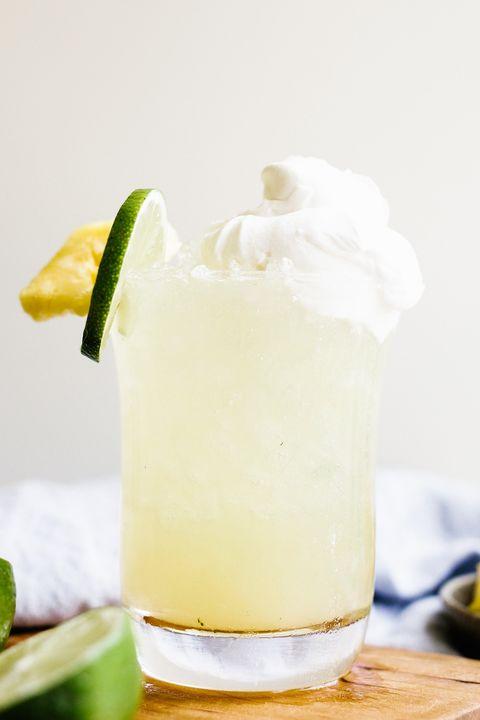 pineapple ginger rum punch