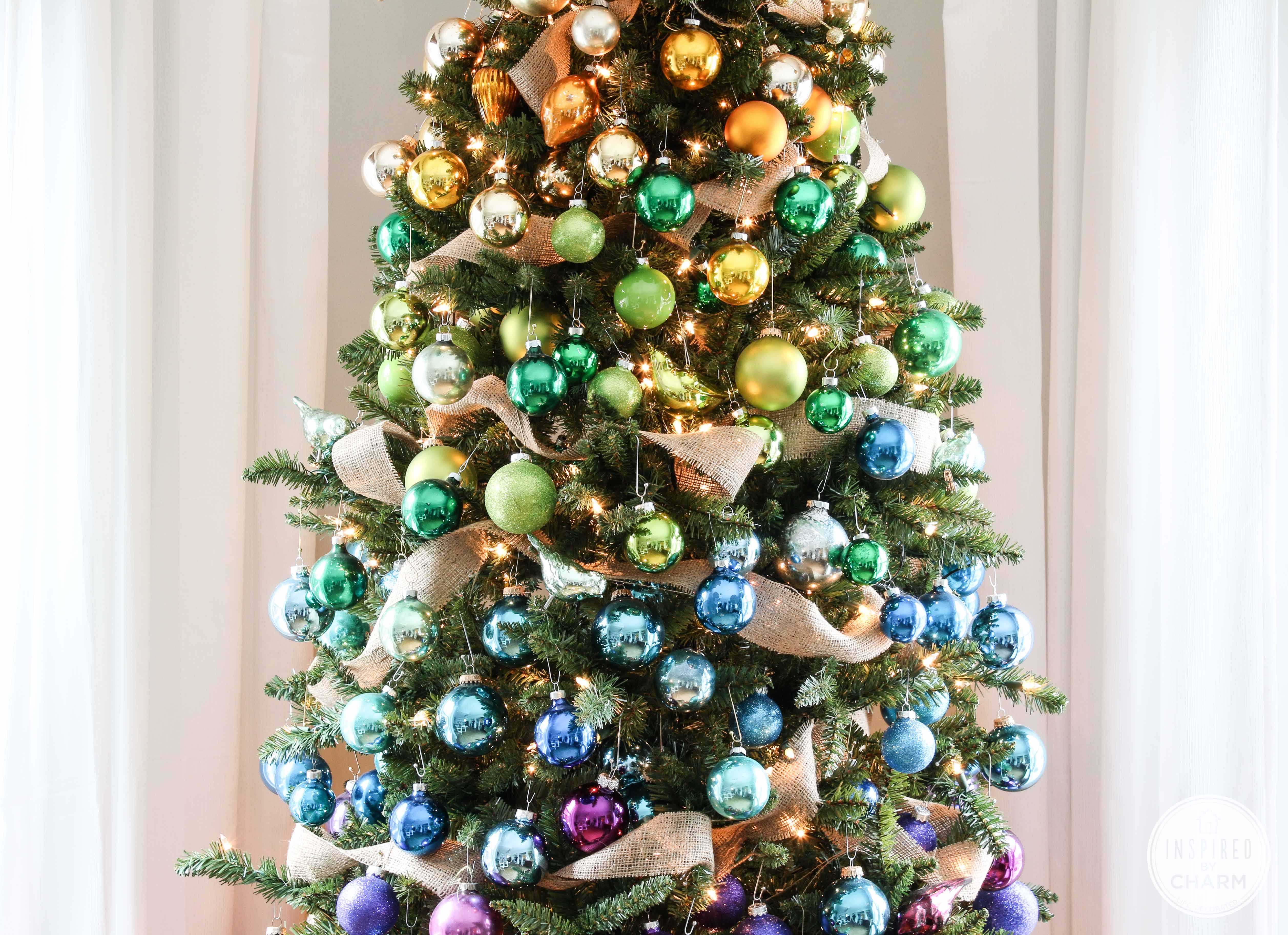 50 christmas tree decoration ideas pictures of beautiful christmasBeautiful Decorations Christmas #8