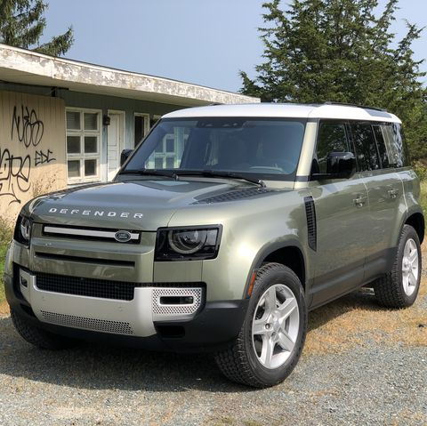 land rover defender 110 first drive review