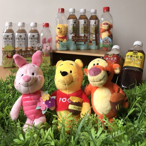 7-ELEVEN推出「KIRIN午後紅茶X迪士尼小熊維尼家族」組合