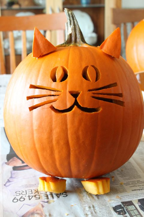 50 Easy Pumpkin Carving Ideas Creative Pumpkin Designs