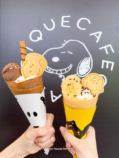 史努比、查理布朗跳進可麗餅裡!日本人氣gelato pique café聯名花生漫畫,11款周邊可愛爆擊