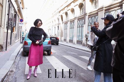小S,徐熙娣,巴黎時裝周,街拍
