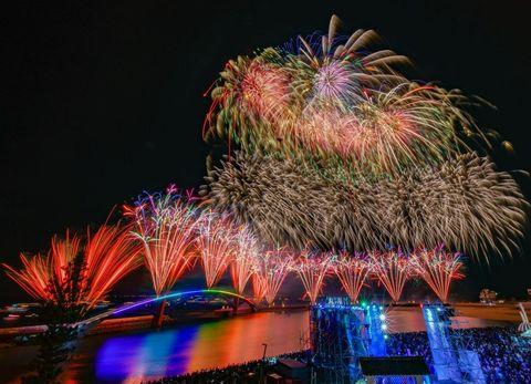 2020澎湖海上花火節