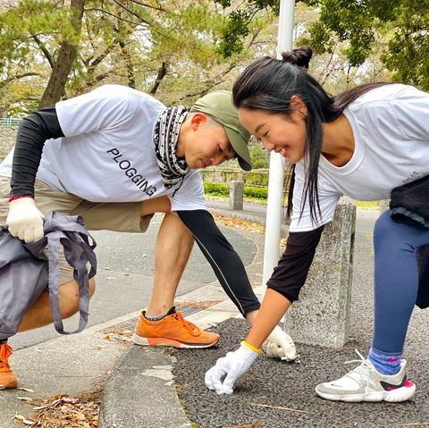 plogging japan,plogging