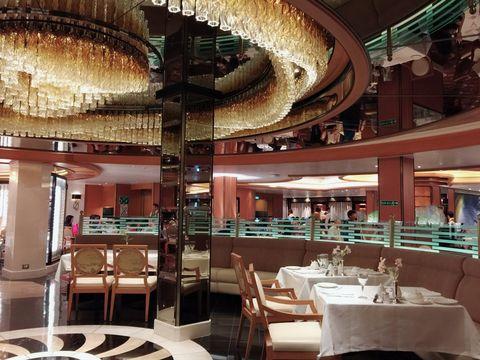 盛世公主號遊輪主餐廳