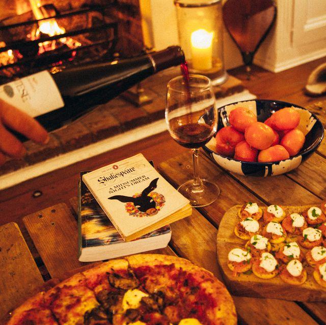 Food, Cuisine, Dish, Meal, Brunch, Supper, Ingredient, appetizer, Wine, Dinner,