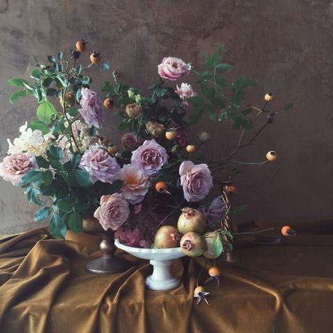 Still life, Painting, Still life photography, Flower, Bouquet, Plant, Artwork, Cut flowers, Floral design, Garden roses,