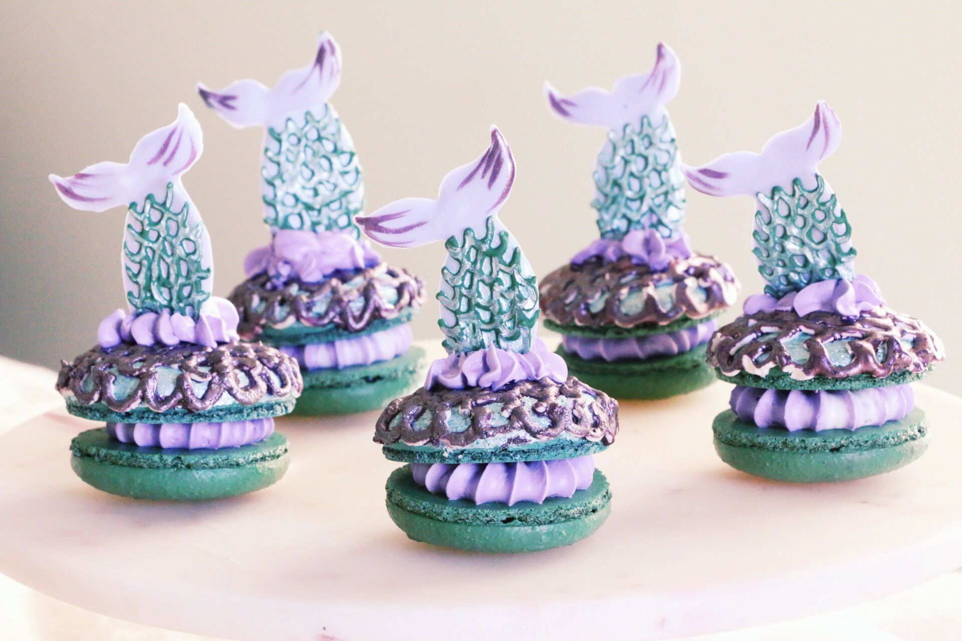 This Mermaid Macaron Video Is the Mesmerizing Distraction Your Day Needs