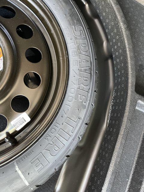 2021 bronco sport spare tire