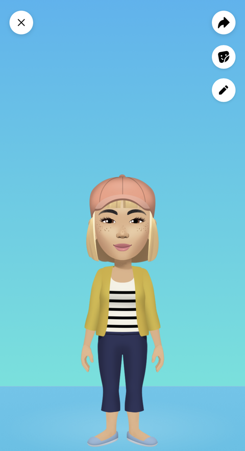 how to create your own facebook avatar step 9