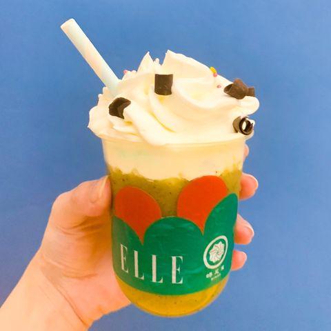 蜷尾家打造浮誇可愛的「調酒」雪泥!「芒果可樂達、奇異綠蚱蜢」兩種口味,只在台南微醺登場