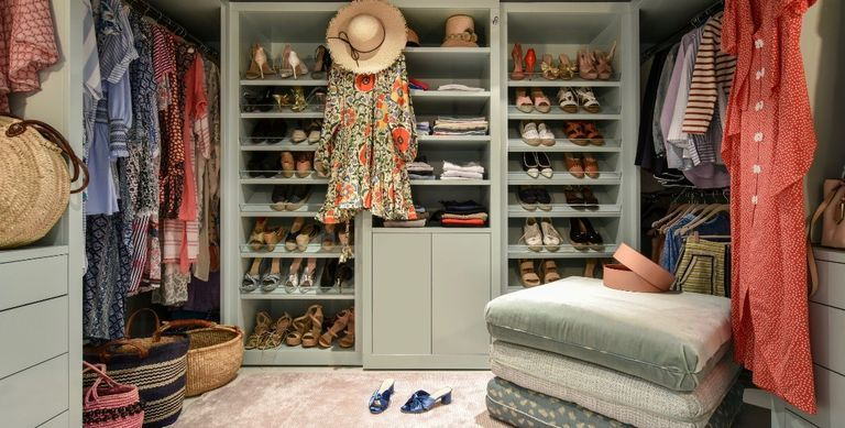 9 Foolproof Tips for Organizing Your Closet, from Melanie Charlton Fowler
