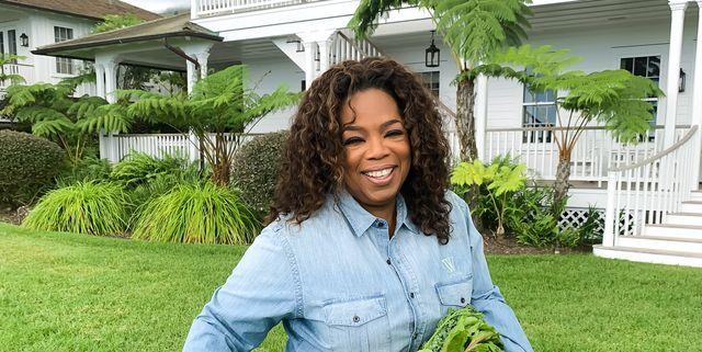 Oprah Showing Off Her Garden Bounty Will Make Your Day