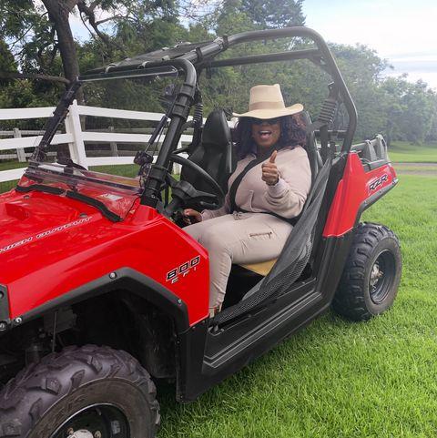 Land vehicle, Vehicle, Motor vehicle, Automotive tire, Car, Tire, Golf cart, All-terrain vehicle, Grass, Wheel,