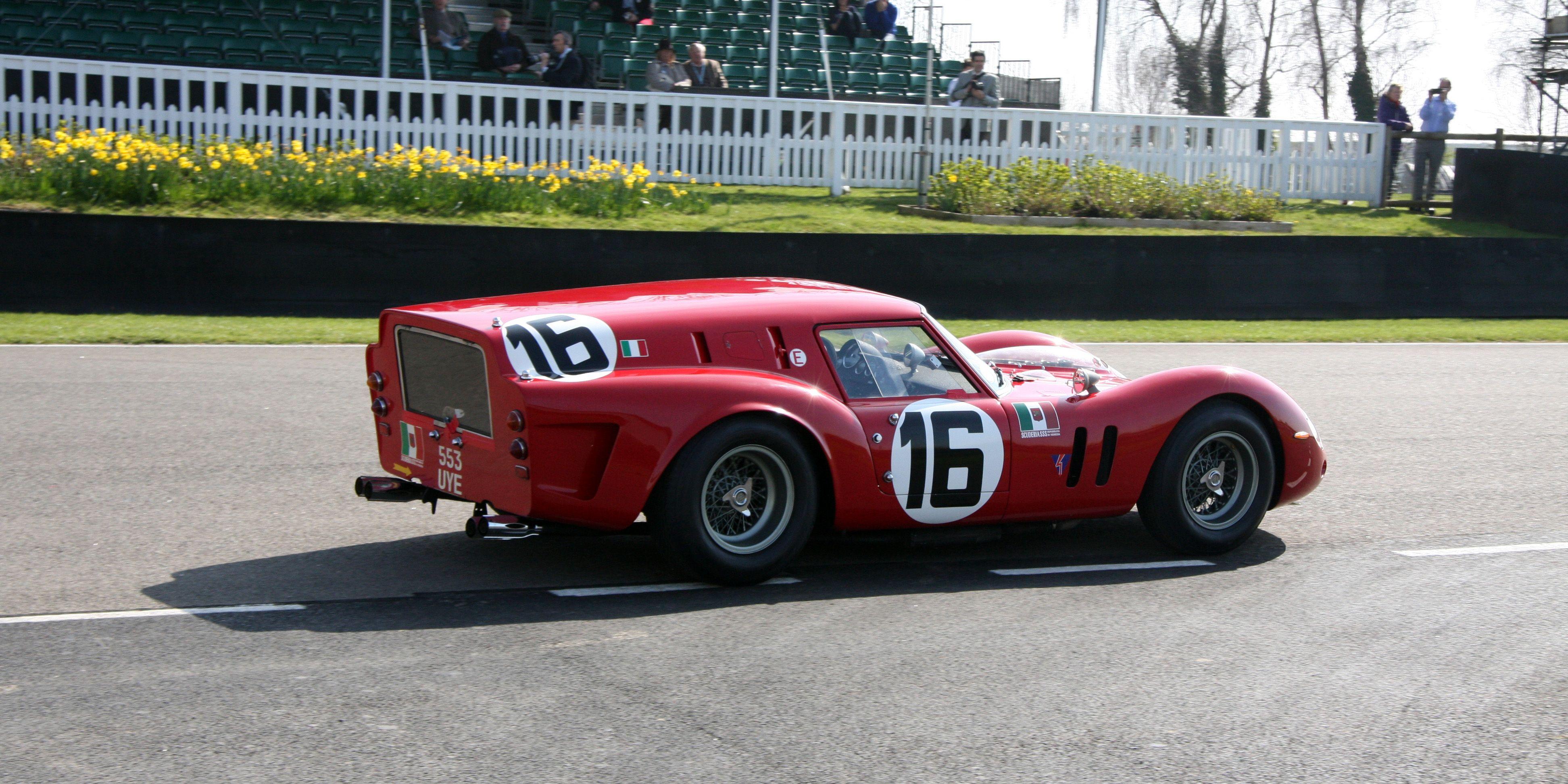 Jump Inside The Ferrari Breadvan At Full Tilt
