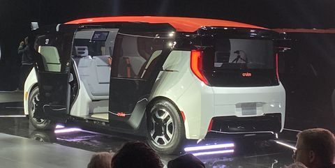 Cruise Unveils Origin, a Self-Driving Vehicle with No Steering Wheel or Pedals
