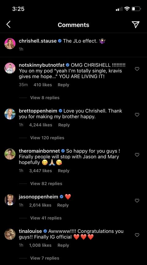 commentaires de chrishell