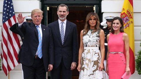 Los reyes visitarán la Casa Blanca de nuevo