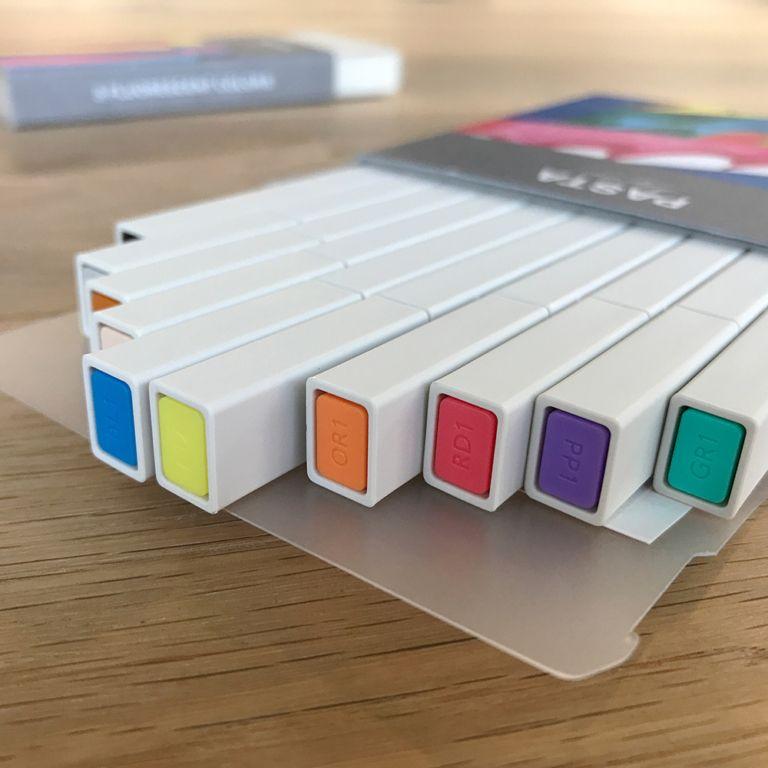 全球最美的螢光筆「PASTA」真心推薦!簡約設計、方形芯、還有像蠟筆般的透明感色調!