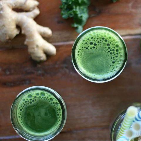 recette de jus de gingembre vert