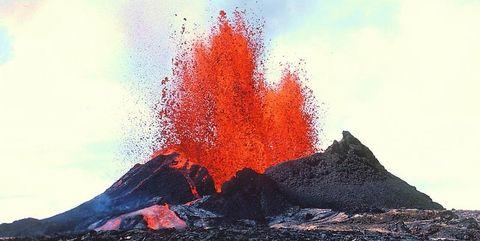 Lava dome, Geological phenomenon, Types of volcanic eruptions, Volcano, Volcanic landform, Stratovolcano, Fissure vent, Rock, Shield volcano, Volcanic rock,