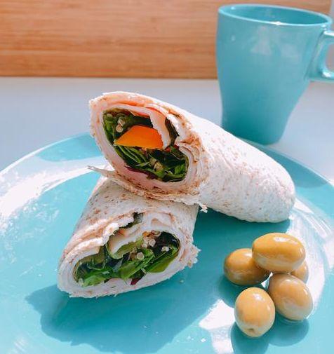 Dish, Food, Cuisine, Sandwich wrap, Ingredient, Produce, Sandwich, Finger food, Recipe, Burrito,