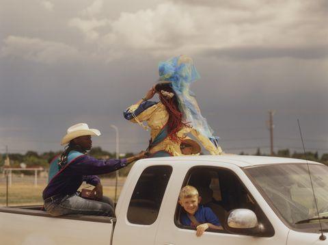 luke gilford rodeo photographs