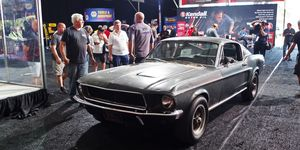 """1968 Ford Mustang from """"Bullitt"""" auctioned"""