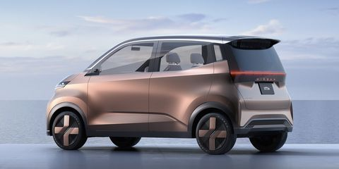 Nissan IMk Concept Is Like a Smartphone on Wheels